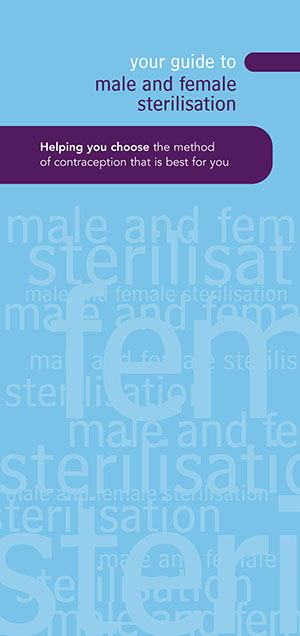 Your Guide to Male and Female Sterilisation cover