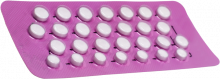 Progestogen-only pill, also known as mini pill